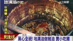 全統香豬油,地溝油,黑心油(資料照)