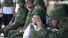 漢光演習、總統蔡英文