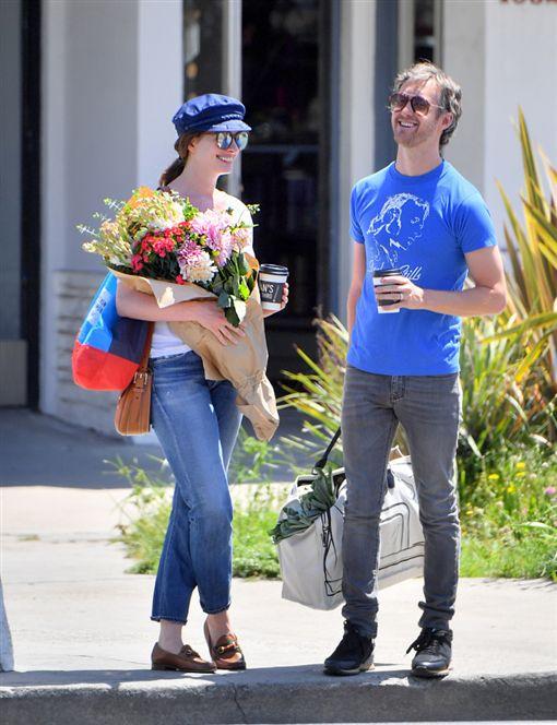 安海瑟薇(Anne Hathaway) 老公亞當·舒爾曼 圖/達志