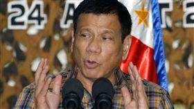 菲律賓總統杜特蒂(Rodrigo Duterte)_美聯社