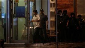 俄羅斯莫斯科花旗銀行遭搶,警方派出談判代表協商。(圖/路透社/達志影像)