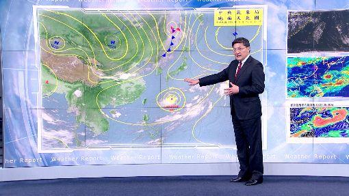 對流旺盛引發雷雨 靠海區域注意長浪