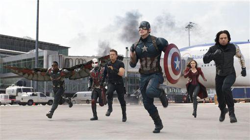 美國隊長,Captain America: Civil War 圖/達志影像