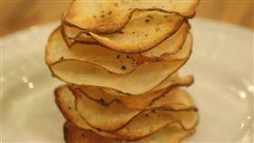 美食,洋芋片,零食,低熱量,健康,橄欖油,馬鈴薯,點心 (翻攝美拍http://www.meipai.com/media/569363697)