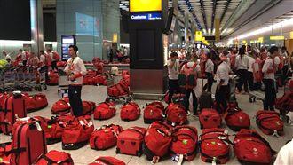 英國選手統一行李箱 這下「悲劇」了