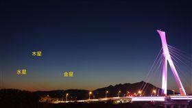 金星,木星,伯利恆之星,觀星,天空,天文, (台北市政府http://goo.gl/ezbGYA)