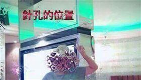 中市摩鐵搜出2針孔鏡頭,夫妻遭偷拍性愛影片(圖/爆料公社)