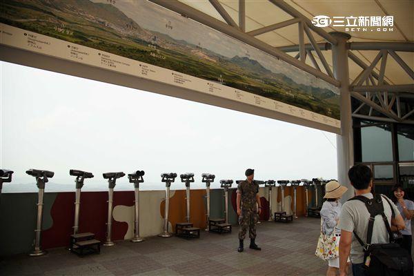 韓國坡州都羅山瞭望台。(圖/記者簡佑庭攝影)