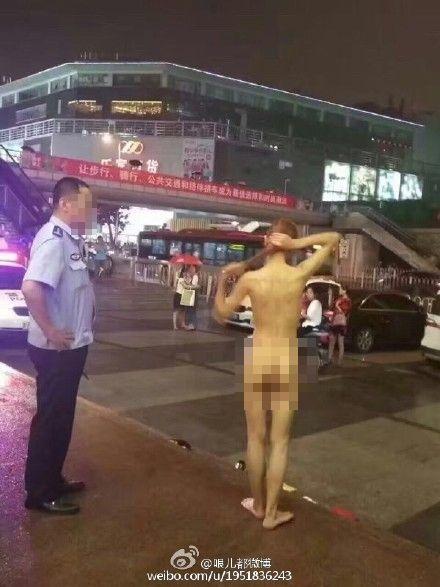 裸女(圖/哏儿都微博)http://www.weibo.com/1951836243/E554QaHl4?type=comment#_rnd1472428467525