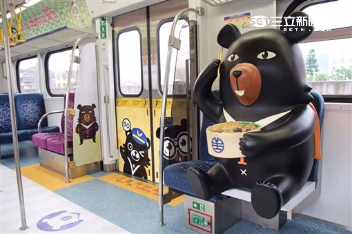 OhBear喔熊微笑觀光列車。(圖/觀光局提供)