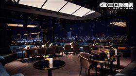 台北萬豪酒店INGE'S景觀餐廳。(圖/台北萬豪酒店提供)