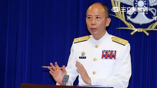 海軍司令部參謀總長梅家樹 邱榮吉攝