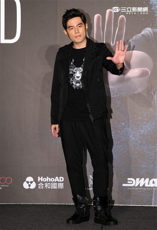 天王周杰倫擔任WildAid野生救援全球大使。(記者邱榮吉/攝影)