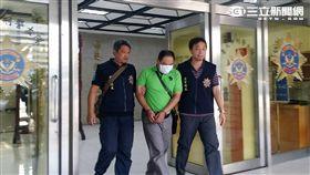 法號「釋智法」的假和尚金佑綸遭通緝又涉盜刷案遭逮捕(翻攝畫面)