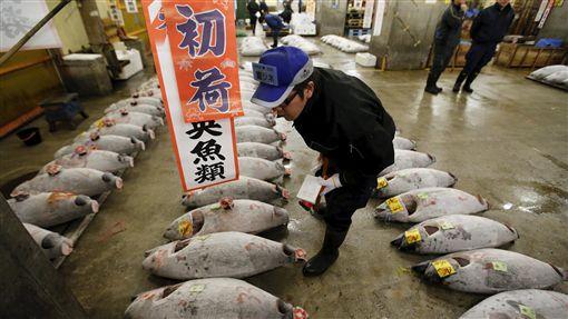 築地魚市場(圖/路透社/達志影像)
