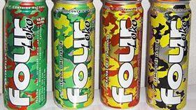 失身酒,水果酒,Four Loko 翻攝自維基百科 https://en.wikipedia.org/wiki/Four_Loko#/media/File:Fourlokoproducts.jpg