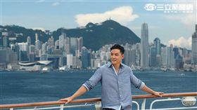 吳彥祖化身旅遊達人,推廣香港郵輪假期及香港地道文化。(圖/香港旅遊發展局提供)