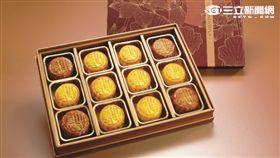 香港半島酒店:爭輝極品月餅禮盒。(圖/半島精品提供)