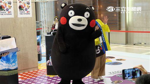 「Touch the KYUSHU九州物產展」請來熊本熊酷MA萌。(圖/記者簡佑庭報導)