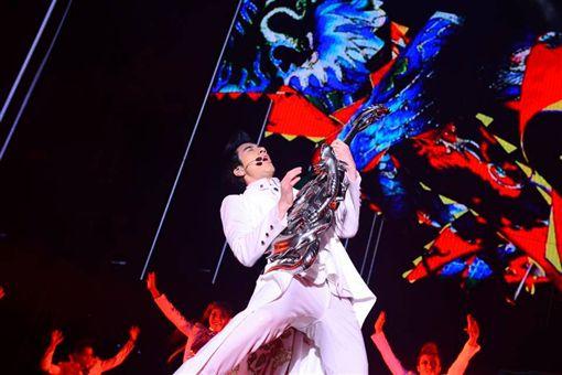 王力宏《火力全開3D演唱會電影》入圍多倫多國際電影節的特別展映單元。(圖/翻攝自王力宏臉書)