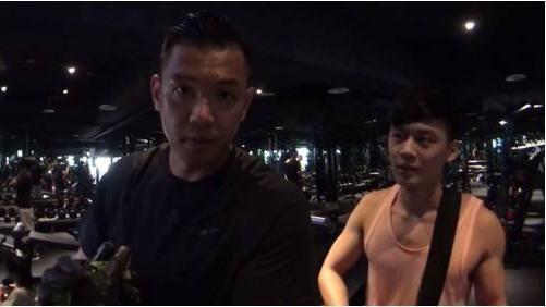 黑人,健身房,違建 圖/翻攝自黑人陳建州臉書