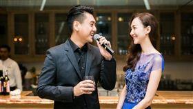 朱孝天、韓雯雯今日舉辦婚禮。(圖/翻攝自新浪娛樂)