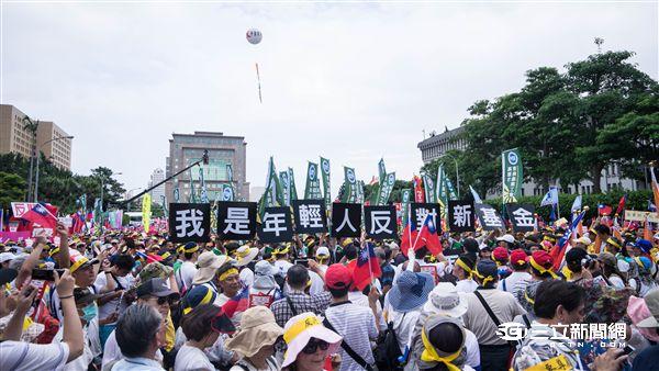 九三軍公教大遊行,反污名,要尊嚴,公務員,軍人,老師 記者林敬旻攝