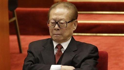 中國前國家主席江澤民(圖/美聯社/達志影像)