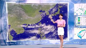 多雲到陰溫度稍降 中南部降雨機率高