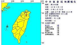 地震 (中央氣象局)
