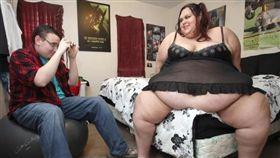 胖妹立志成為全世界最胖女模(圖/翻攝自都市報)