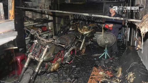 心痛! 車行大火 百萬重機界法拉利燒毀