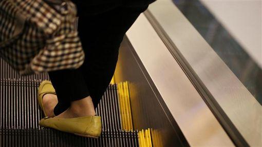 手扶梯,機器,捲入,危險圖/shutterstock/達志影像