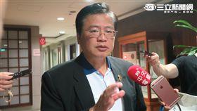 商總副理事長許舒博。(記者盧素梅攝)