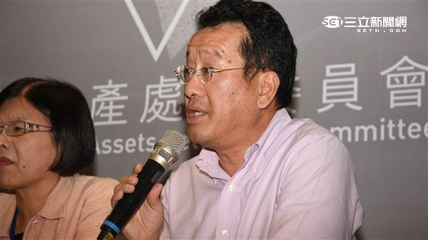 不當黨產處理委員會 顧立雄委員 圖/記者林敬旻攝