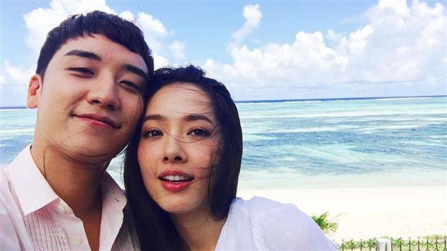 勝利公開新戀情?親密貼臉台灣女演員
