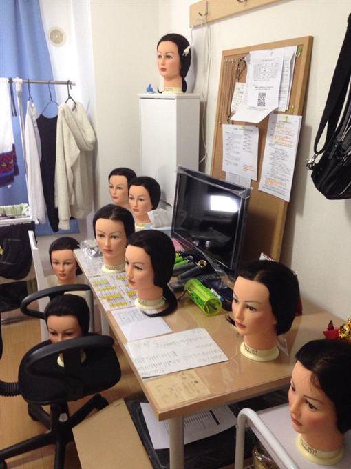 美容師,美容科,學生,假人頭,電話,雜音,靈異(https://twitter.com/LDH_Bassa/status/637630211769524225)