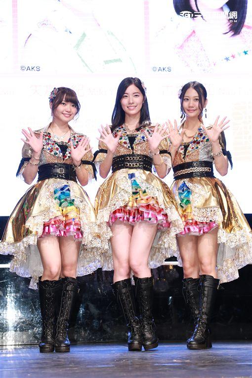 20160908-SKE48成員松井珠理奈 矢方美紀 古畑奈和媒體見面會