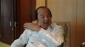印尼總統佐科威對台特使翁俊民,圖/中央社