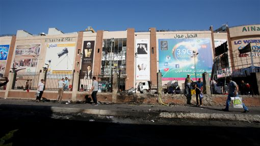 棕櫚樹商場自殺炸彈爆炸(Nakheel Mall)路透社
