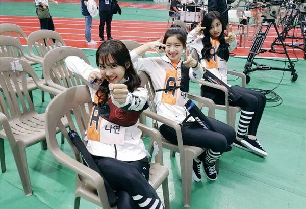 TWICE、偶像明星運動會、周子瑜(圖/TWICE臉書)