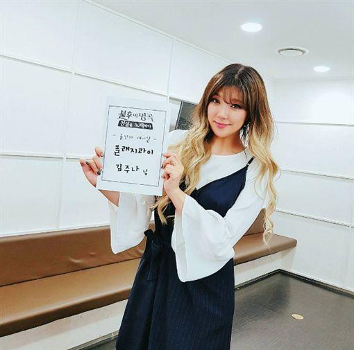 圖/翻攝Caffebene Taiwan Official臉書、金珠娜IG https://www.instagram.com/cool_jn/