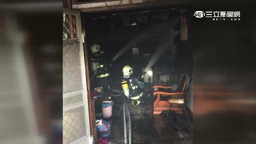 公寓傳火警 竟是一樓住戶縱火燒自宅