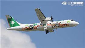 立榮航空酷企鵝彩繪機。(圖/立榮提供)