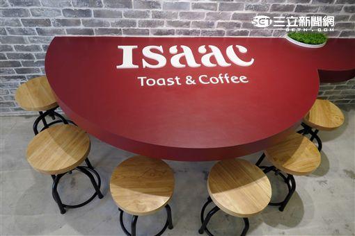 韓國美而美Isaac Toast & Coffee旗艦店。(圖/記者簡佑庭攝)