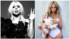 Lady Gaga,Beyoncé,合成圖/臉書