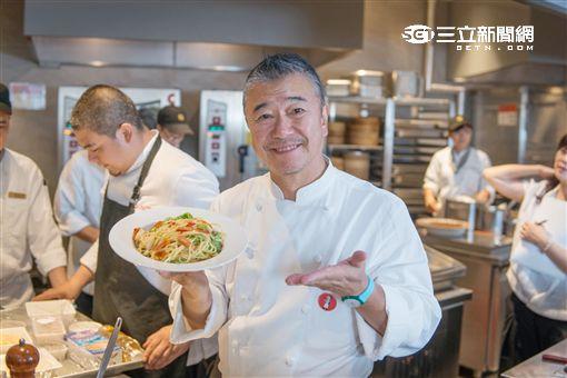 漢來海港義大利美食節請來日本主廚落合務。(圖/漢來海港提供)