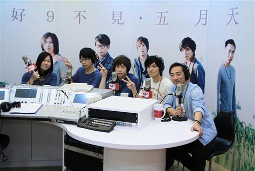 五月天 台北之音 圖/Hit Fm提供