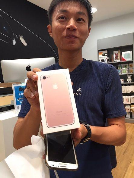 iPhone 7,首賣,STUDIO A(圖/中央社)