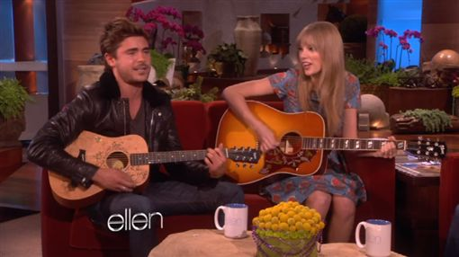 泰勒絲,Taylor Swift,柴克艾弗隆,Zac Efron/YouTube